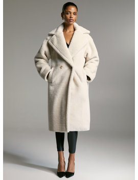 Townsend Teddy Coat by Babaton