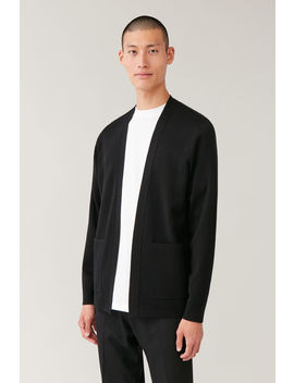 Open Merino Cardigan by Cos