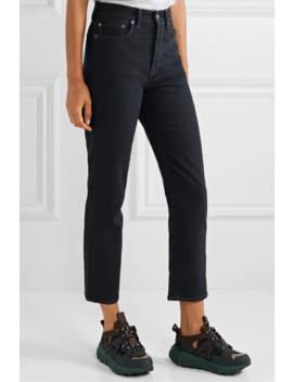 mece-verkürzte,-hoch-sitzende-jeans-mit-geradem-bein by acne-studios