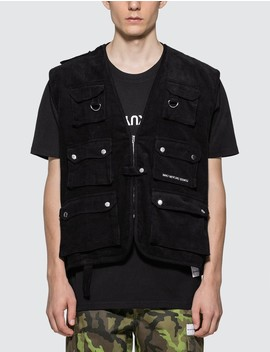 Cord Pocket Vest by              Mki Miyuki Zoku