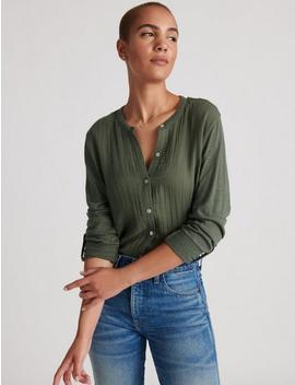 Double Gauze Shirting by Lucky Brand