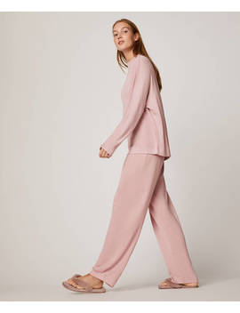 Soft Pink Trousers by Oysho