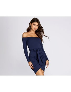 What's Knot To Like Mini Dress by Windsor