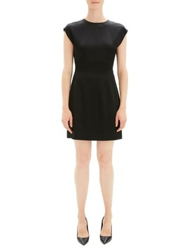 Cap Sleeve Fitted Dress by Theory
