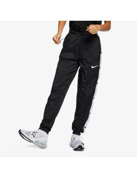 Nike Sportswear Damen Popper Hose   Schwarz by Pro Direct Soccer