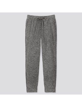 men-fluffy-yarn-fleece-easy-pants by uniqlo