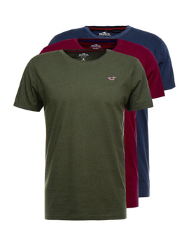 Crew 3 Pack   T Shirt Basic by Hollister Co.