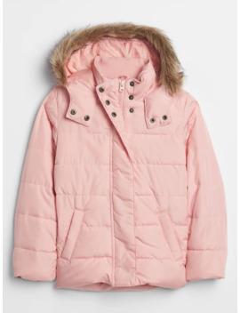 Kids Hooded Puffer Jacket by Gap
