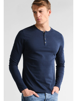 Longsleeve   Navy by Pier One