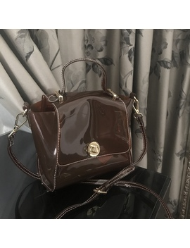 Zara Mini City Bag Vinyl Never Used Paid £26    Zara by Depop