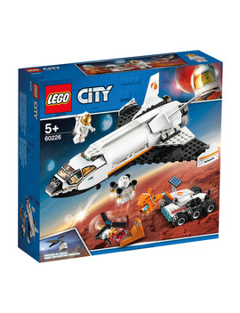 Lego City Vaivém Espacial De Pesquisa Em Marte by Lego