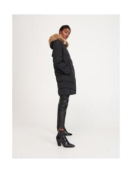 Mantel Mit Künstlichem Pelz by Reserved