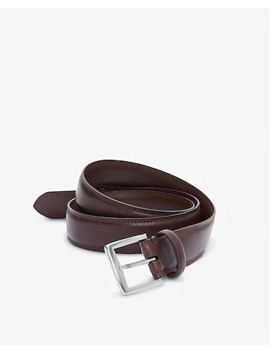 Stitched Silver Prong Belt by Express