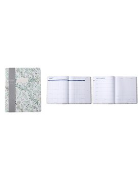 2019 2020 17 Month Planner Green Ferns by Eccolo