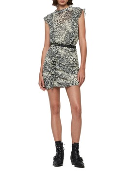 hali-patch-leopard-print-open-back-minidress by allsaints