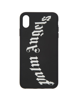 Black & White Arch Logo I Phone X Case by Palm Angels