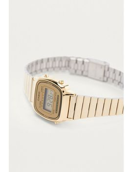 Casio – Mini Vintage Uhr La670 Wega In Gold by Casio Shoppen