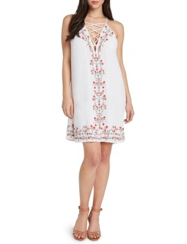 Embroidered Shift Dress by Willow & Clay