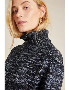 Jada Space Dyed Turtleneck Sweater by Anthropologie