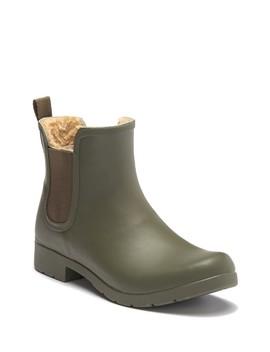 Eastlake Chelsea Faux Fur Waterproof Boot by Chooka