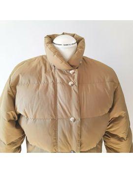 Rei / Co Op Goose Down Jacket Beige Brown Ladies S Small Vintage by Ebay Seller