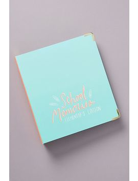 school-memories-binder by russell+hazel