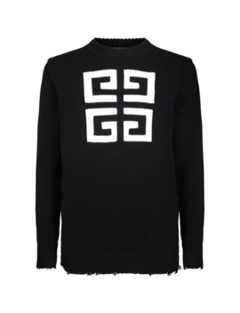 Logo Knitted Sweatshirt by Givenchy