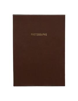"""Pinnacle Albums 9"""" X 9"""" Premium Leather Photo Albums Set Brown by Pinnacle Albums"""