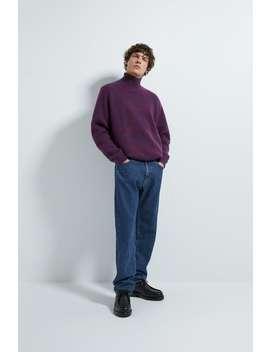 Karierter Jacquard Pullover by Zara