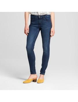 Women's High Rise Skinny Jeans   Universal Thread™ Dark Wash by Universal Thread