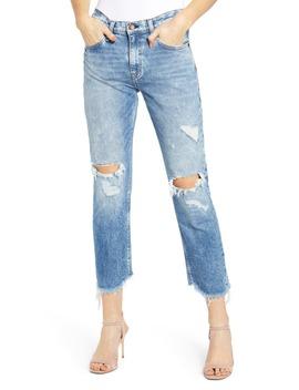 Jessi Ripped Ankle Boyfriend Jeans by Hudson Jeans