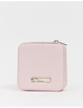 Ted Baker Zipped Pink Jewellery Case by Ted Baker