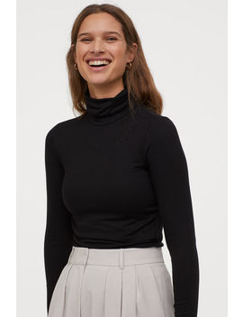 Mama Ribbed Nursing Top by H&M