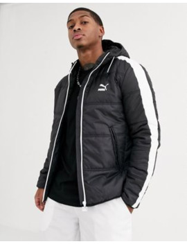 Puma Padded Jacket In Black by Puma