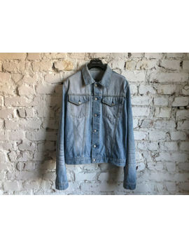 Ss02 Helmu Lang 'archive' Mii Vintage Clean Denim 2 Pockets Slim Jeans Jacket 54 by Helmut Lang