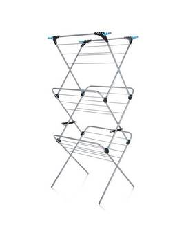 Minky Plus 21m 3 Tier Indoor Clothes Airer389/6871 by Argos
