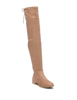 Richie Suede Over The Knee Boot by Chinese Laundry