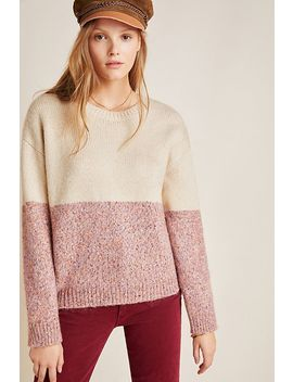 Sancha Colorblocked Sweater by Cupcakes And Cashmere