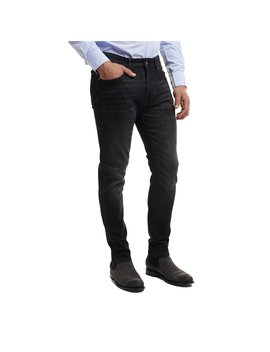 Johnny Stretch Jeans Slim Fit   Black by Peter Manning