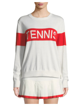 Tory Sport Performance Cashmere Tennis Sweater by Tory Sport