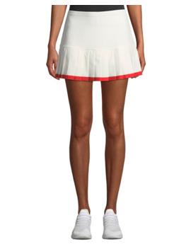 Tory Sport Pleated Tennis Skirt W/ Contrast Hem by Tory Sport