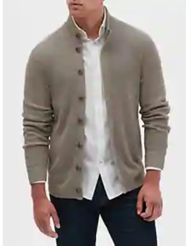Mock Neck Button Down Sweater by Banana Republic Factory