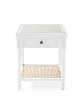 Harbour Cane Side Table  Tb Acc228 01 by Serena And Lily