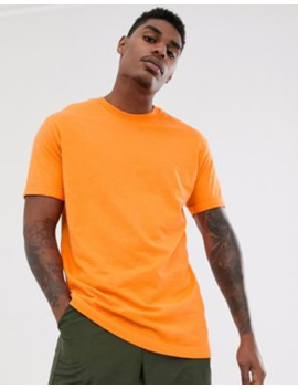 Bershka Join Life Organic Cotton Loose Fit T Shirt In Orange by Bershka's