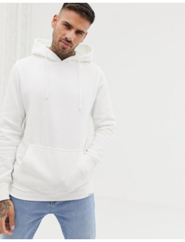 Pull&Amp;Bear Hoodie In White by Pull&Bear