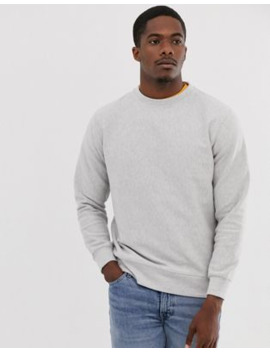 Pull&Amp;Bear Basic Sweatshirt In Grey by Pull&Bear