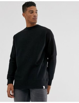 Pull&Amp;Bear Basic Sweatshirt In Black by Pull&Bear