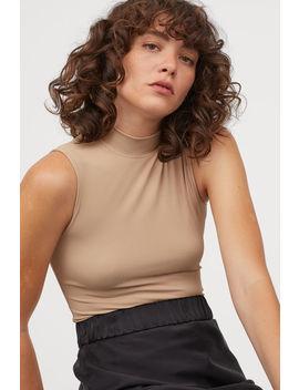 Боди с ниска поло яка by H&M
