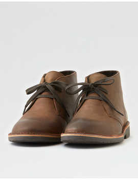 Aeo Leather Chukka Boot by American Eagle Outfitters
