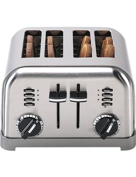 4 Slice Toaster   Brushed Chrome by Cuisinart